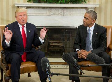 Trump dijo que ha consultado algunos nombramientos con Obama