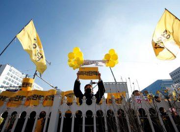 Parlamento surcoreano destituyó a la presidenta en una sesión histórica