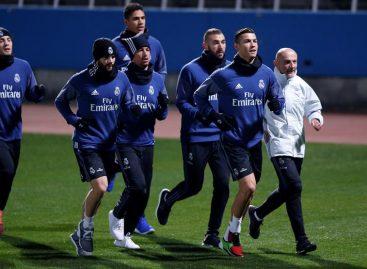 El Real Madrid realizó su primer entrenamiento en Japón