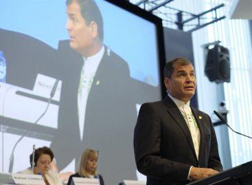 Correa tildó de «grandes noticias» aprobación del acuerdo con la UE