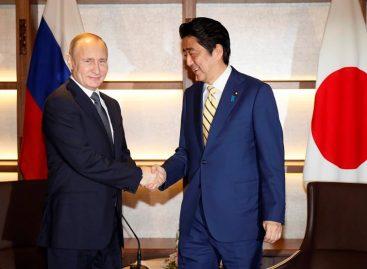 Putin llegó a Japón para cumbre con Abe con casi tres horas de retraso