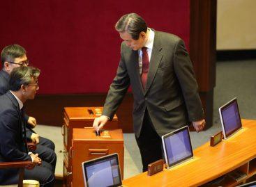 31 diputados del partido gobernante de Corea del Sur dimitirán