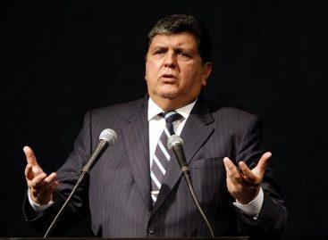 Congresistas peruanos «ponen la mano en el fuego» por Alan García
