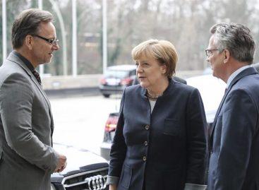 Merkel confía en la «pronta detención» del atacante de Berlín