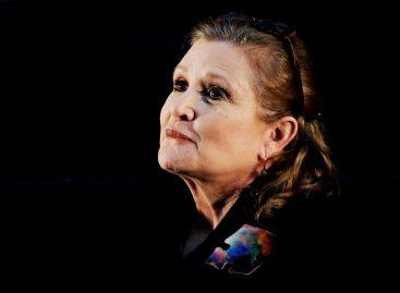 Carrie Fisher tenía restos de estupefacientes en su cuerpo al morir