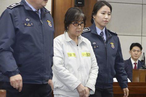 La «Rasputina» surcoreana reiteró su inocencia en una primera vista no preparatoria