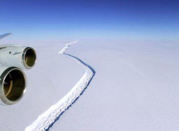 Los científicos estiman que un iceberg de la Antártida podría desprenderse