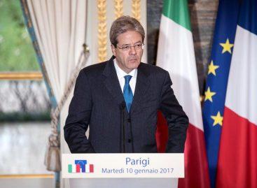 Primer ministro italiano ingresado en un hospital para someterse a una angioplastia