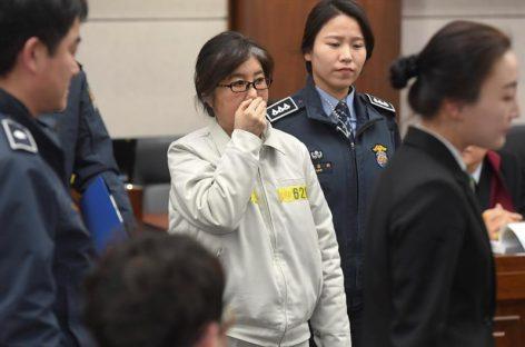 Llamaron a declarar a la «Rasputina» surcoreana en la causa contra Samsung