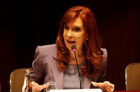 Fiscal pidió investigar si Cristina Fernández incurrió en abuso de autoridad
