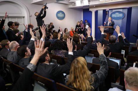 La Casa Blanca de Trump revoluciona la relación con la prensa