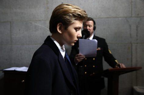La Casa Blanca pidió dejar crecer al hijo menor de Trump fuera de los focos