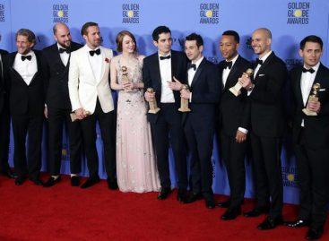 «La La Land» arranca la carrera hacia los Óscar con la fuerza de «Titanic»