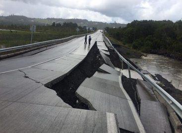 Temblor de 4,9 grados sacudió dosregiones en sur de Chile