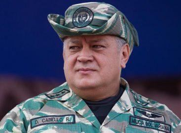 Diosdado Cabello dice que Varela «irá preso» cuando termine su mandato