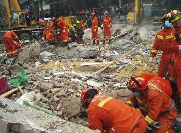 Siete muertos y dos sobrevivientes en derrumbe de edificio en China