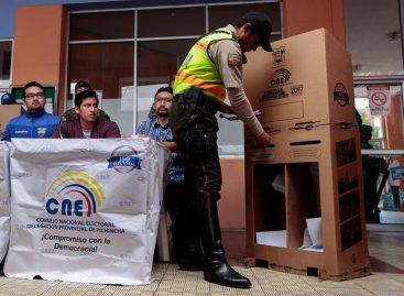 CNE de Ecuador hizo último simulacro previo a las presidenciales
