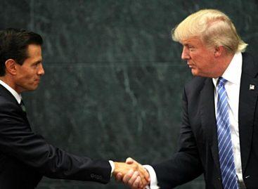 Trump dijo que Peña Nieto está muy interesado en ayuda contra carteles