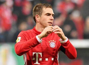 Lahm anunció su retirada al final de la presente temporada con el Bayern