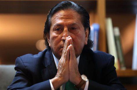 Perú ofreció recompensa de US$30.000para capturar Toledo