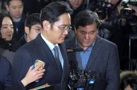 Interrogaron nuevamente a heredero de Samsung por el caso «Rasputina»