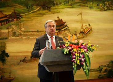 Guterres condenó misil norcoreano ypidió al gobierno cambio de rumbo