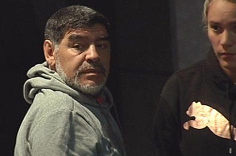 La Policía acudió al hotel de Maradona tras fuerte discusión