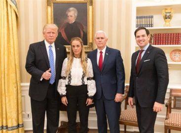 Trump pidió la liberación de Leopoldo López tras recibir a Tintori en la Casa Blanca
