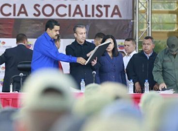 Maduro dijo que luchará contra elnarcotráfico tras la «agresión imperial»