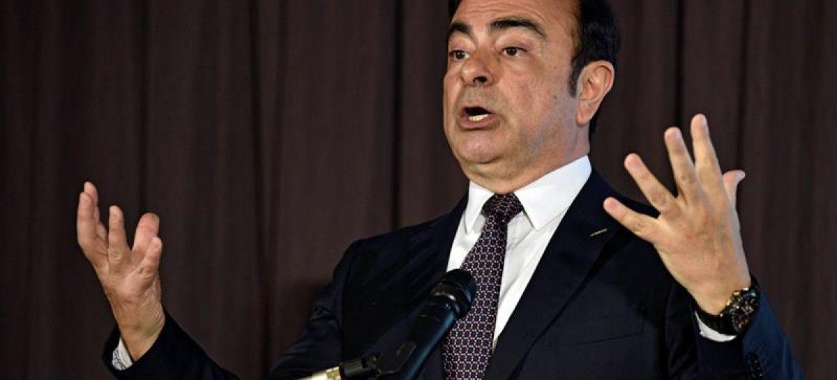 Carlos Ghosn abandonará su puesto como consejero delegado en Nissan