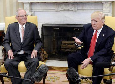 Trump dijo junto a PPK que tiene un «gran problema» con Venezuela
