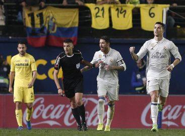 El Real Madrid remontó al Villarreal en una vibrante segunda parte