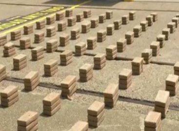 Decomisaron 30 paquetes de cocaína en Colón