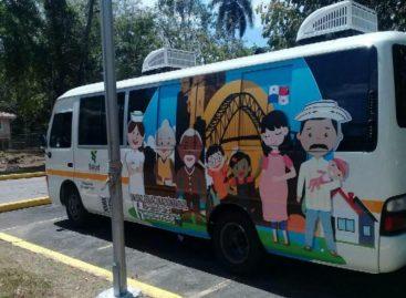 Inauguran unidad de vacuna móvil que recorrerá distintas áreas de la capital