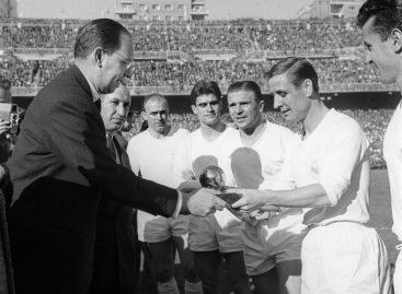 Murió Kopa, leyenda del fútbol francés y del Real Madrid