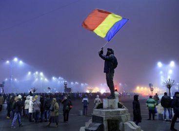 Rumanos volvieron a manifestar contra la corrupción y el Gobierno