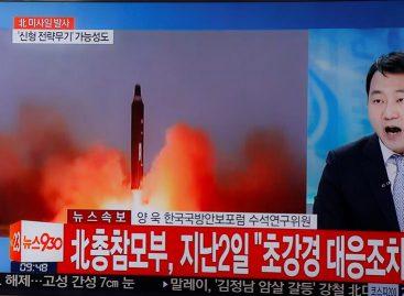 Corea del Norte lanzó al mar de Japón cuatro misiles balísticos