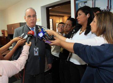 Ayú Prado no descarta optar a la reelección como presidente de la CSJ