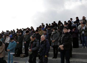 Japón conmemoró con un minuto de silencio el sexto aniversario del tsunami