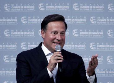 Varela amenaza con enviar a Migración a venezolanos que protesten en Panamá
