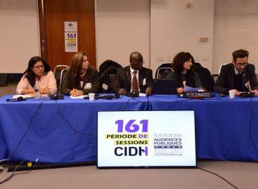 La CIDH cierra sus audiencias con casos de Venezuela y Brasil