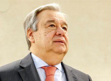 Guterres pide al Gobierno y a la oposición de Venezuela volver al diálogo