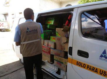 Aupsa ha destruido más de 30 kilogramos de alimentos importados durante 2017