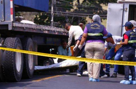 Lamentable: Camión arrolló fatalmente a hondureño en La Chorrera