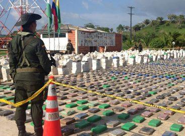 Gobierno colombiano incautó 630 kilos de cocaina en la frontera con Panamá