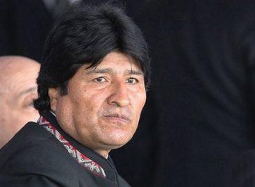 Evo Morales recurrió a Twitter por prohibición médica para hablar