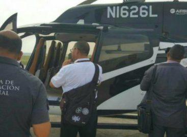 Llegó a Panamá el helicóptero confiscado a hijo de Martinelli