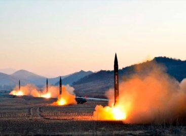 Corea del Norte reforzará armas nucleares por portaaviones de EEUU