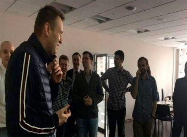 Opositor ruso Alexei Navalny fue liberado tras pasar 15 días detenido