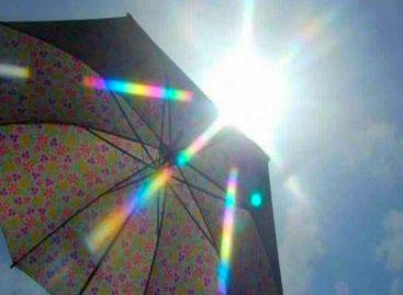 Emiten aviso por radiación ultravioleta hasta el 17 de enero